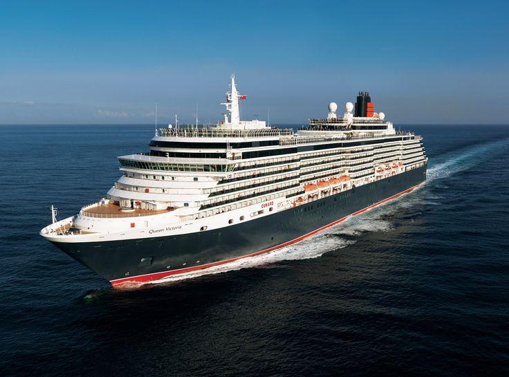 Cunard's Queen Victoria #3Queen #Cunard175