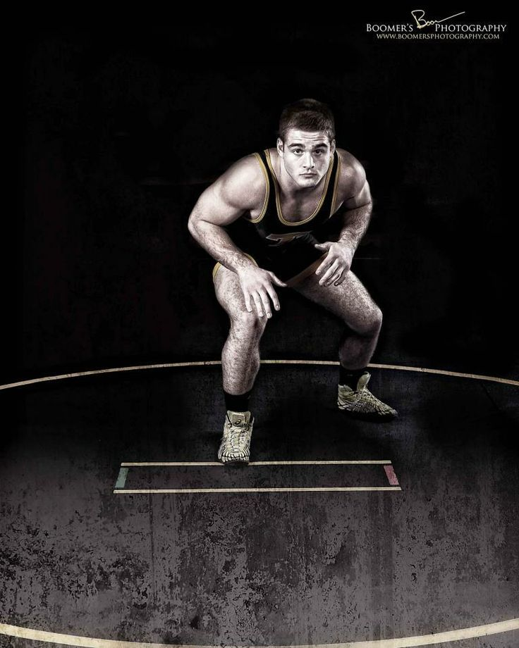 Wrestling Portrait | Boomer's Photography