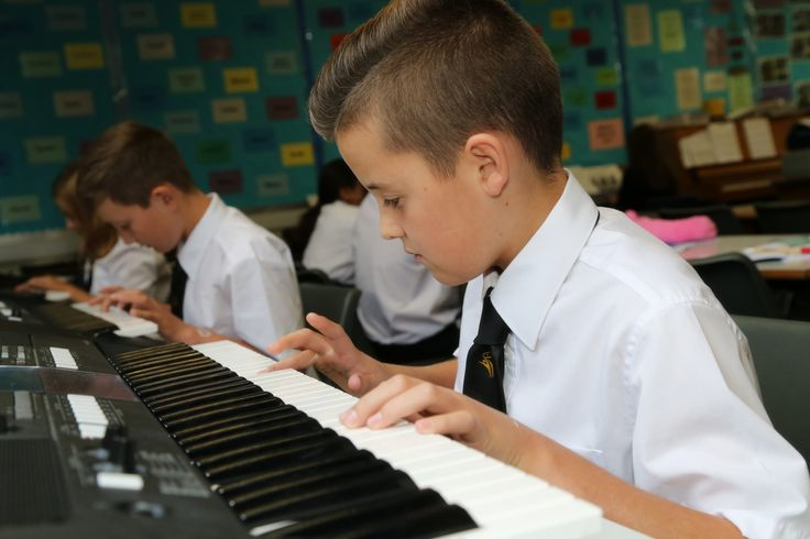 Music classes at Mark Hall Academy