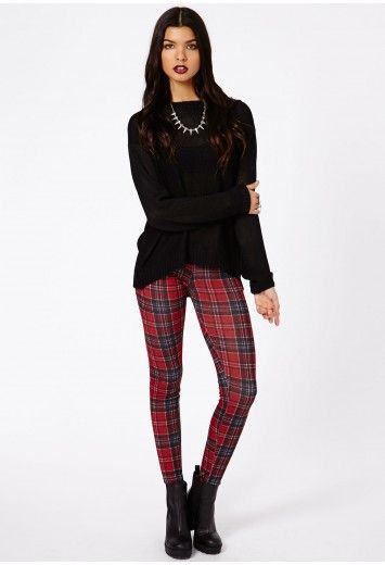 Missguided tartan leggings. Ordered these today. Cant wait to wear them. Being Scottish...i thought why not have some more tartan in my wardrobe?!
