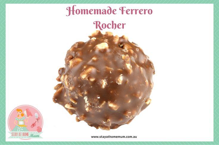 Homemade Ferrero Rochers | Stay at Home Mum