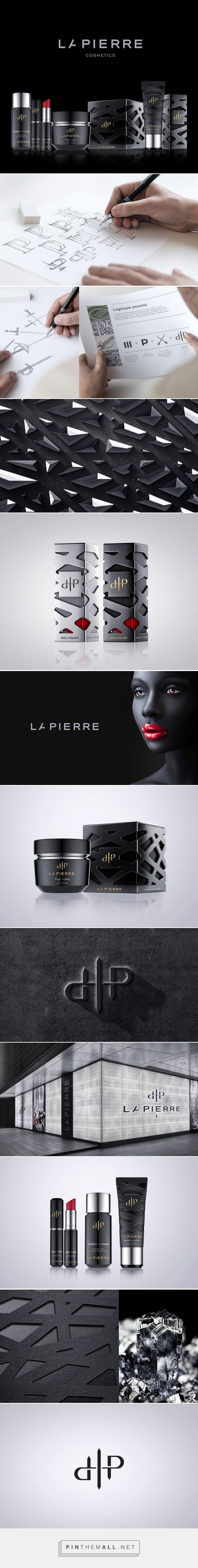 LaPierre cosmetics packaging designed by Reynolds and Reyner​ - http://www.packagingoftheworld.com/2015/09/lapierre.html
