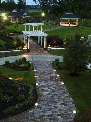 Millennium Cobble Paver Lights Kit Backyard Landscaping