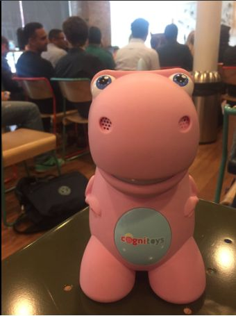 CogniToys Dinos are looking cute no matter if it's a close up or a selfie!