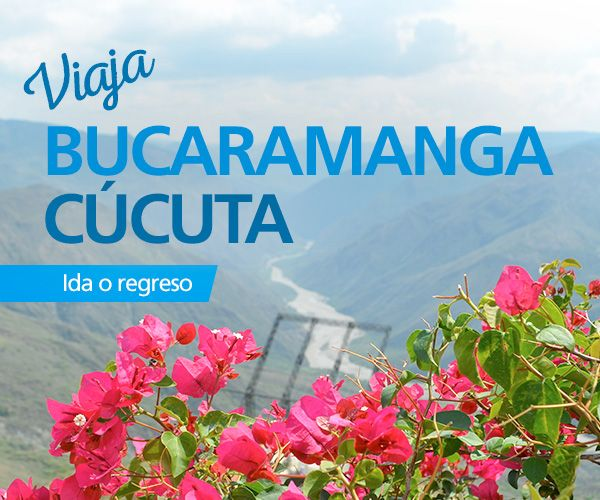 Viaja directo con #EasyFly #Bucaramanga #Cucuta con 5 vuelos diarios durante toda la semana. Haz tu compra en www.easyfly.com.co con las mejores tarifas de EasyFly, teniendo como llegada o salida el Aeropuerto Internacional de Palonegro en Bucaramanga o el Aeropuerto Internacional Camilo Daza en Cúcuta.