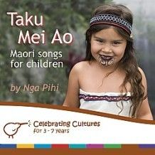 Taku Mei Ao My World, features simple songs in Maori that reflect the child's world. Celebrate our natural environment, animals, dancing and moving, and everyday activities such as cleaning up.