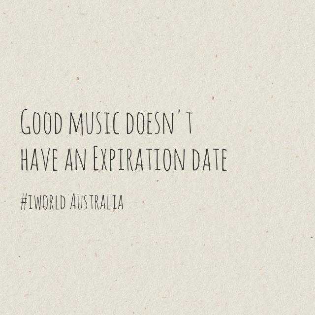 Good music never expires :)