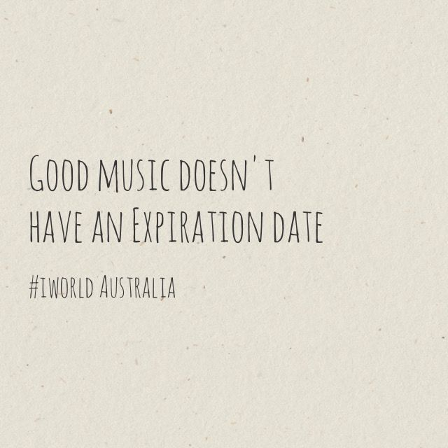 Good music never expires :)