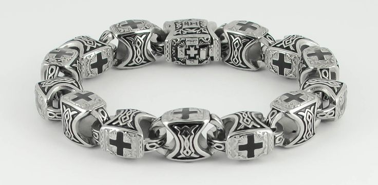 New Skull Bone Jewelry Stainless Steel Bracelets Designed By Kenny Miller On Cad Cam
