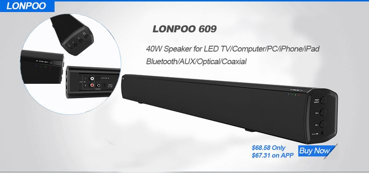 Bluetooth Soundbar Loudspeak Column Wireless Sound Bar