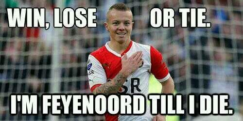 Feyenoord zit in je hart