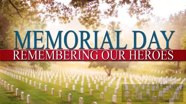 memorial day is to celebrate
