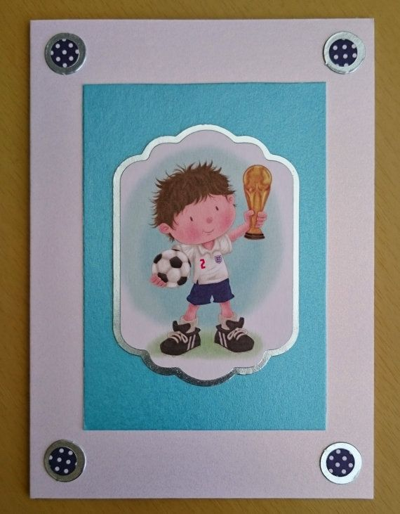 Handmade C6 Football Greeting Card Any Occasion by BavsCrafts