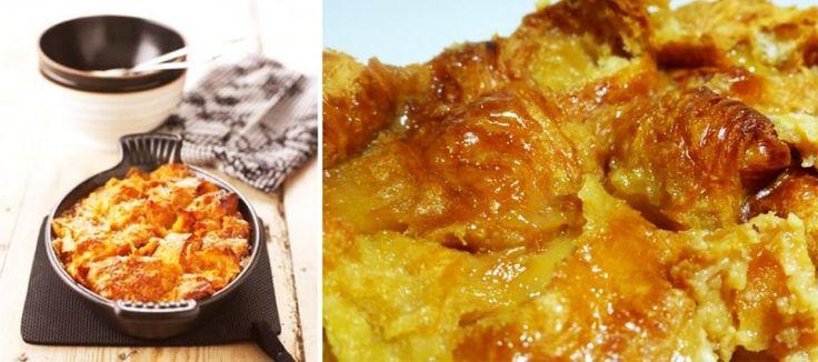 Caramel Croissant Pudding | The Taste Detectives