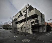 Graffiti Street Art Inspired Hive Apartment in Australia