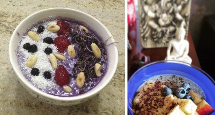 smoothie bowl saludables