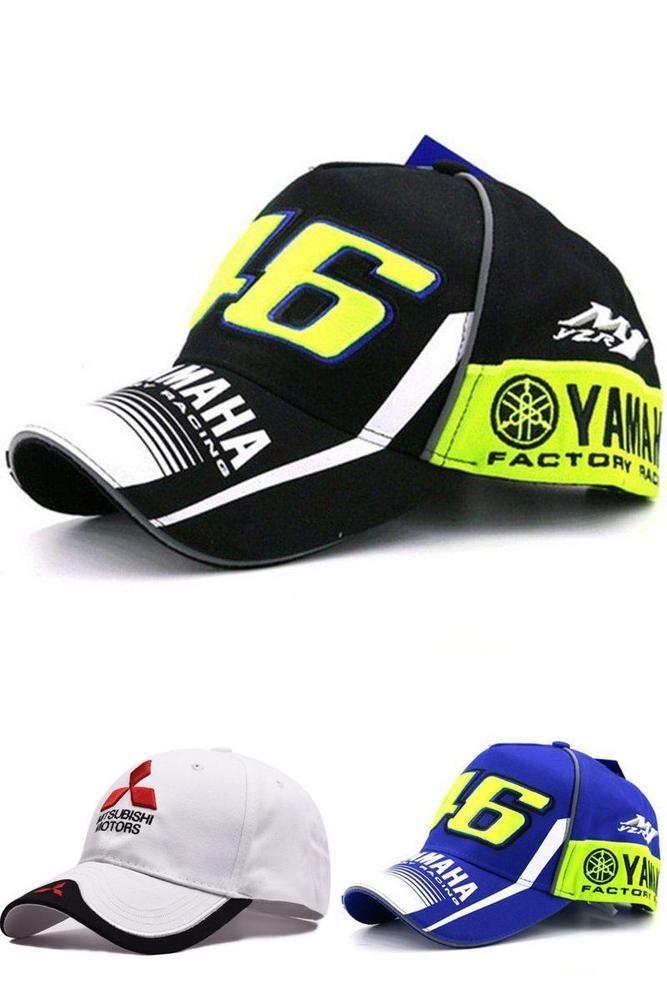 0de855f6a MOTO GP 46 Motorcycle Valentino Rossi 3D Racing Cap Men Yamaha ...