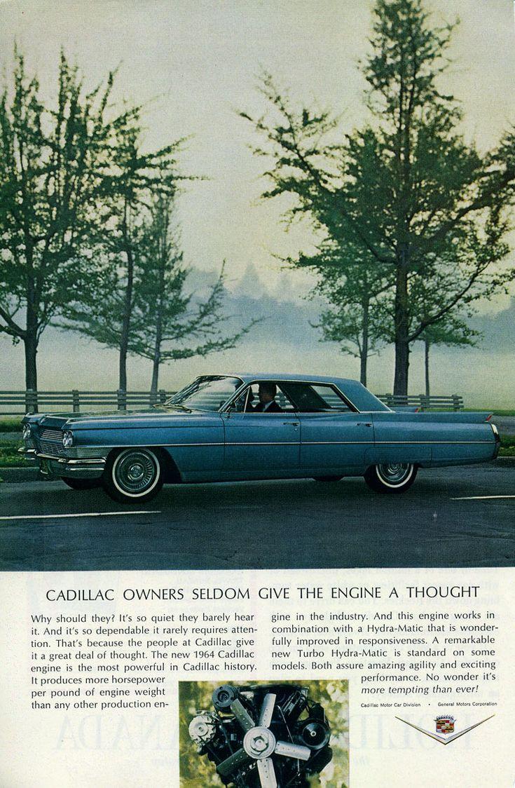 1964 cadillac sedan de ville ad