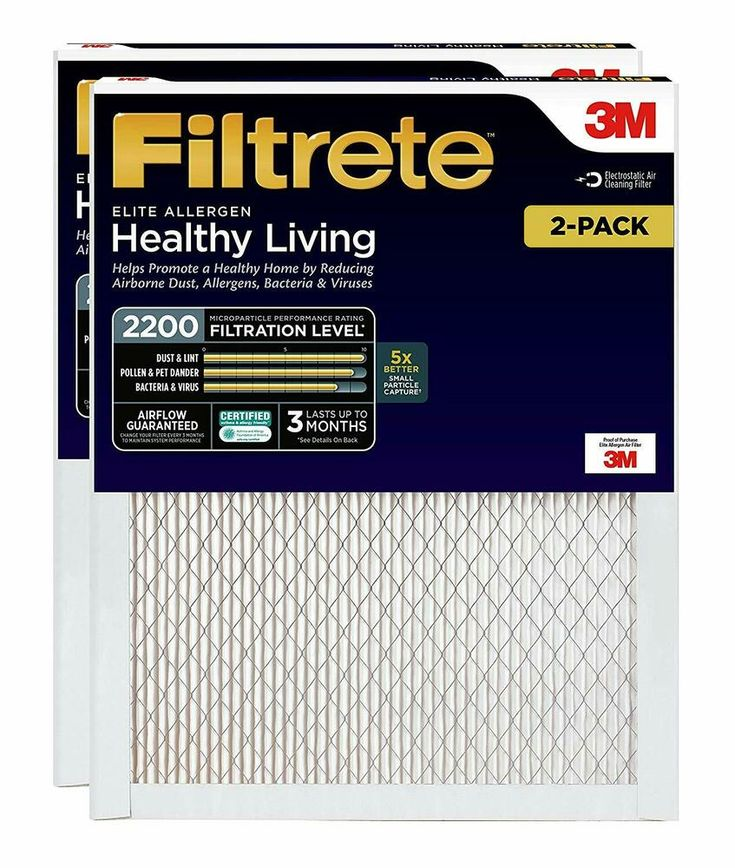 AIR CONDITIONER FURNACE AC FILTER SMART MPR 2200 20X30X1
