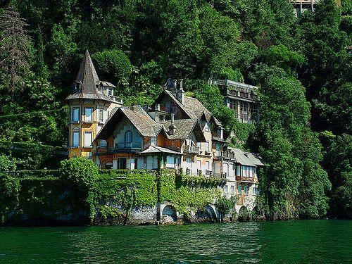 Seaside Home, Lago di Como, Italy: Dreams Home, Como, Favorite Places, Boathouse, Dreams House, Lakes Como Italy, Lake, Photo, Memorial Mornings