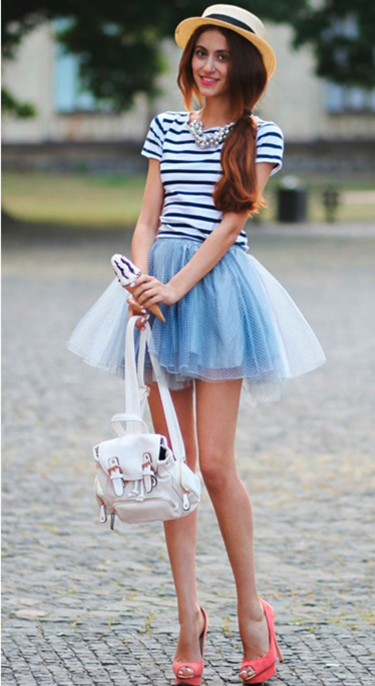 adorable tulle skirt mini backpack purse this look is