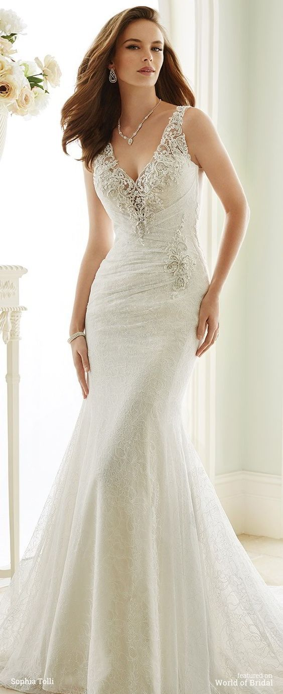fcc605fa584 Sophia Tolli Fall 2016 wedding dresses