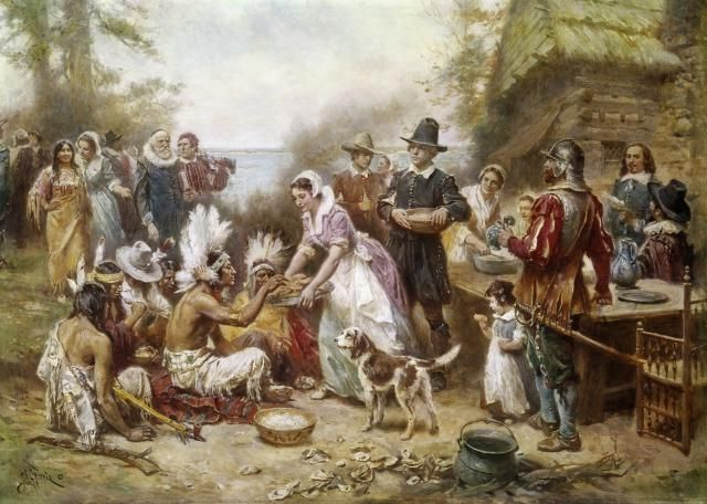 Learn about the origins and traditions of the Thanksgiving holiday through a historic lens.