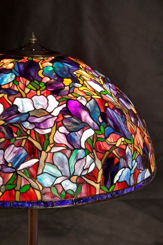 Floor Lamp Bespoke Glass Stained glass lamp Tiffany