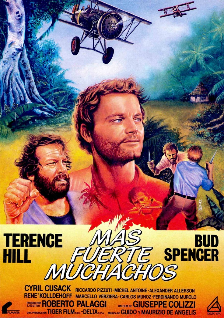 "Terence Hill & Bud Spencer - ""All the Way Boys"""
