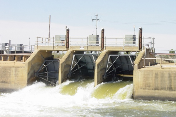 """The Drop hydro plant in New South Wales, Australia      """"Pacific Hydro recognised the powerful flows of water released for irrigation purposes from the Southern Hemisphere's largest irrigation channel, the Mulwala Canal, as an untapped source of hydro power."""""""