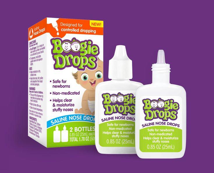 Boogie Drops® Saline Nose Drops Boogie Wipes Boogie