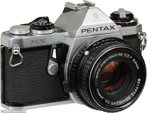Oh big time flashbacks. Where the hobby all started. Dad's hand off to me. Pentax ME 35mm SLR. Old school baby. Sadly, no longer in my possession.