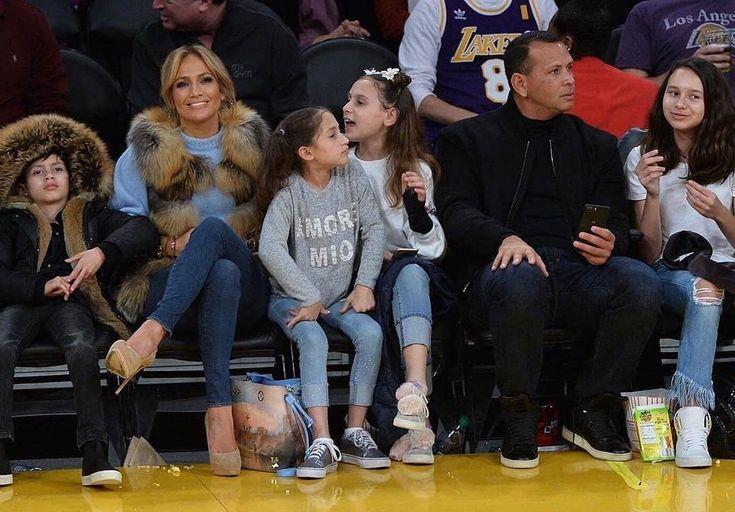 JLO and AROD spotted courtside at the Lakers game with their kids  #jenniferlopez #jlo #alexrodriguez #arod #kimkardashian #kanyewest  #kimk #2018 #trendsetterny #tsnypromomedia #england #london #rihanna #beyonce #kardashian #cardib #kendalljenner #kyliejenner #la #losangeles #hollywood #usc #ucla #melrose #dtla #venice #cali #california