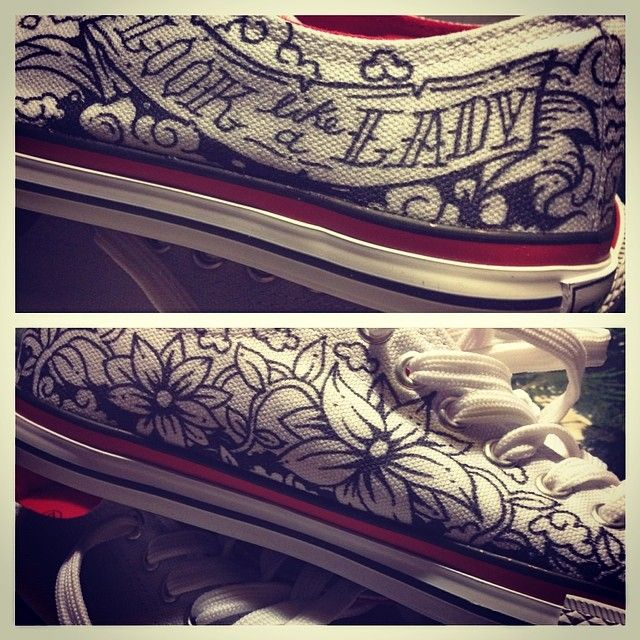 Converse Custom by kartess. Personal project