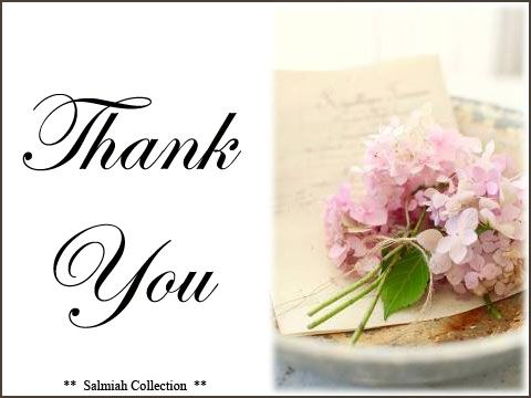 Flowers of Life: Thank You Card 21