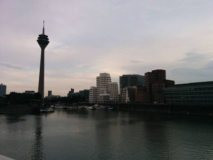 Breathtaking views over the river in Düsseldorf  #2europeans #germany #düsseldorf #europe #rheinturm #architecture #river #sky #amazingpic #roadtrip #beautiful #landscape #views #walk #hashtag #goals #instagram #picture #enjoy #moments #lifestyle #travelphotography #happy #fun #travel #travelgram #travelling #trip #travel #traveltheworld