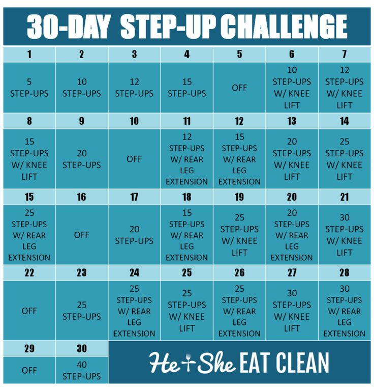 30-Day Step-Up Challenge  sc 1 st  Pinterest & Best 25+ Step up workout ideas on Pinterest | Step workout Weight ... islam-shia.org