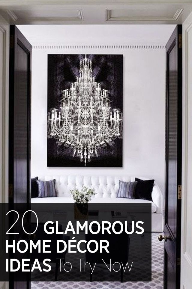Add A Touch Of Glamour To Your Home With These Interior Design Ideas