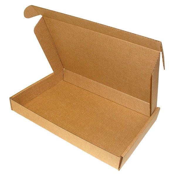 Картонный короб №49 (самосборная коробка) размером 390*260*50 мм
