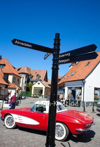 Gotland, Sweden, Visby, Stora Torget - Visby, Big square, Big Market Square