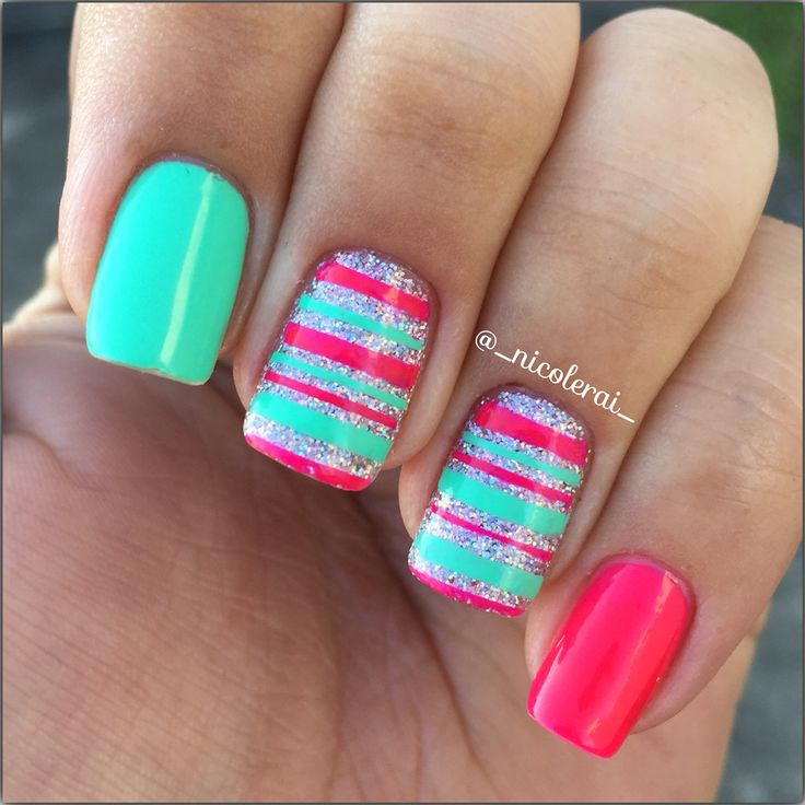The 487 best My Nail Designs images on Pinterest | Nail art ideas ...
