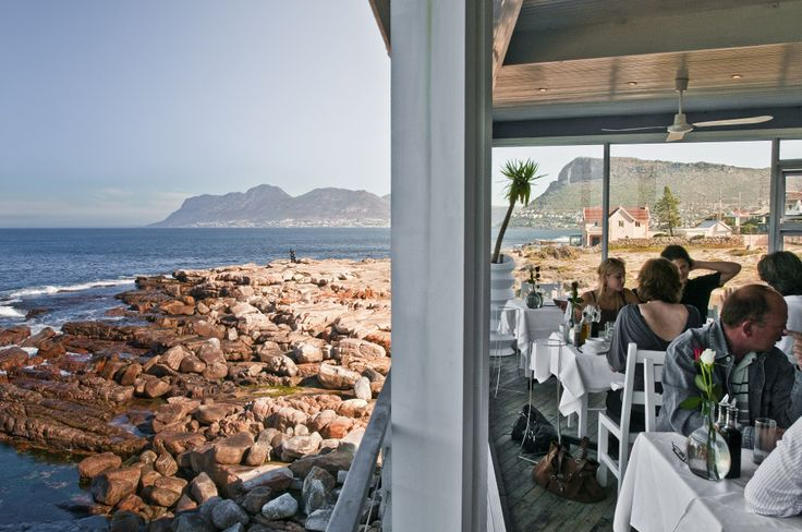 South Africa, Harbour House Restaurant on Kalk Bay.