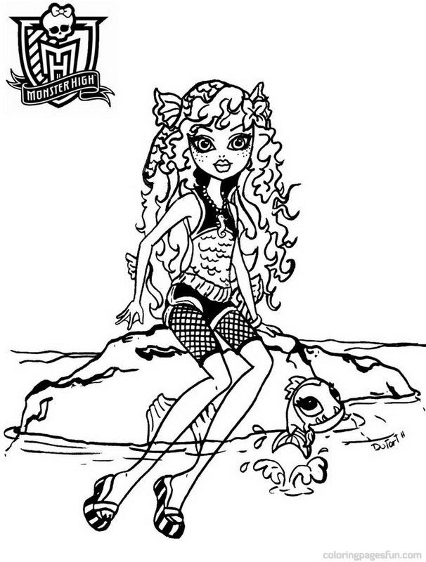 Monster High Colouring Pages : 157 best coloring monster high images on pinterest