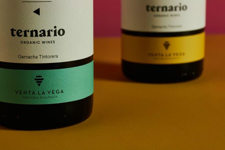 Ternario, una familia de vinos bajo un concepto numérico | DissenyCV