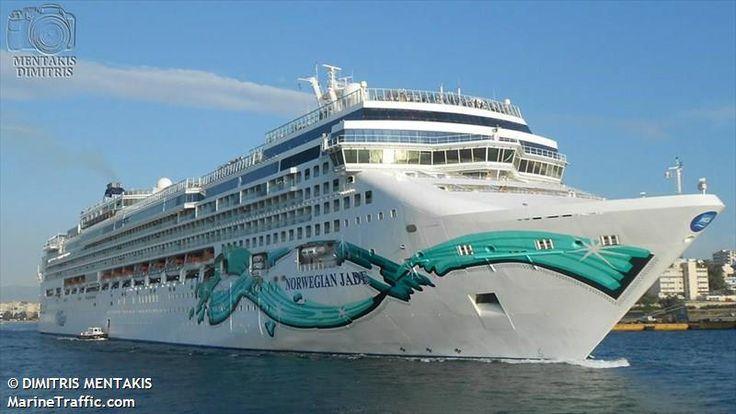 Το Norwegian Jade καταπλέει στον Πειραιά.11/05/2014.