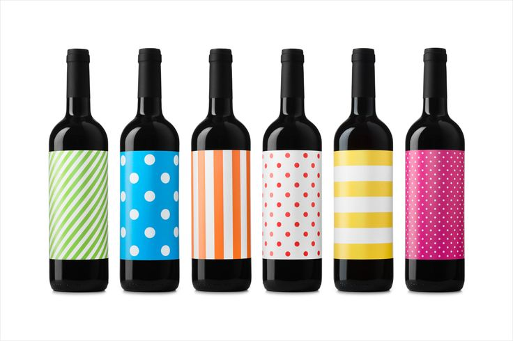 Labels by Barcelona-based design studio Atipus for Vi Novell 2016, a young wine from producer Celler Masroig