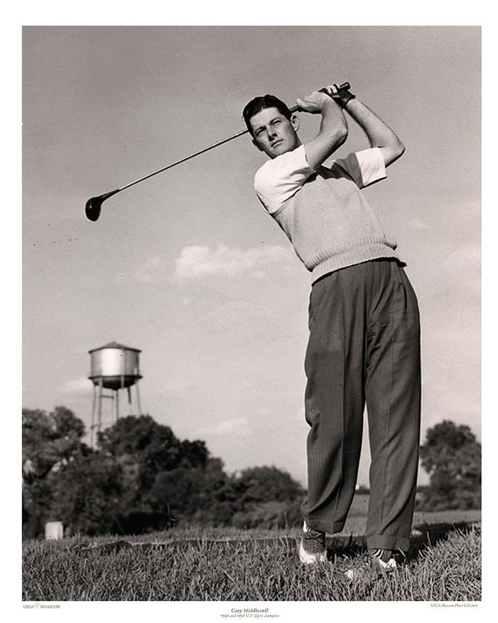 Cary Middlecoff Won Two U S Open Titles In His Career Cary Pro Golf Pga Tour