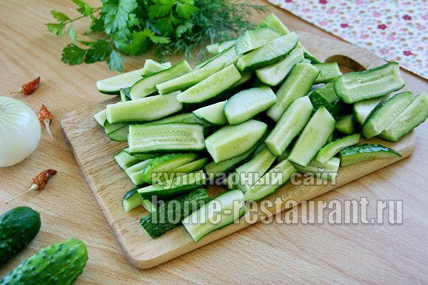 Готовим салат из огурцов на зиму дамские пальчики: идеальный салат из огурцов для зимы. Нужен салат из переросших огурцов на зиму?