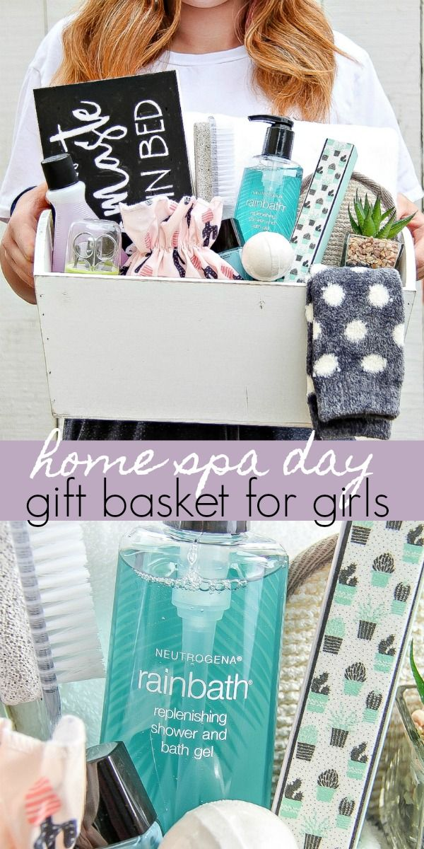 Give The Gift Of A Mother Daughter Home Spa Day Tonya Staab Spa Day At Home Diy Spa Gifts Spa Day Gifts