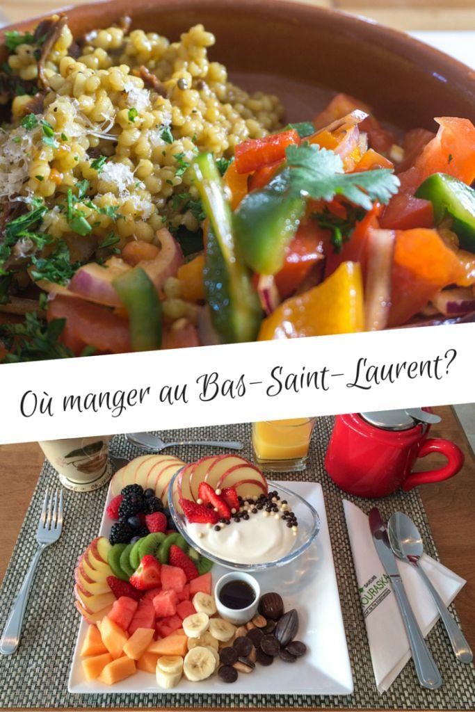 Où et quoi manger au Bas-Saint-Laurent, trouvailles gourmandes!